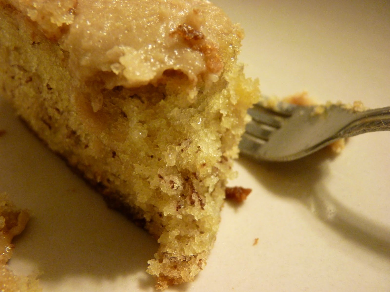 amelia.mary: Grandma's Banana Cake with Caramel Frosting