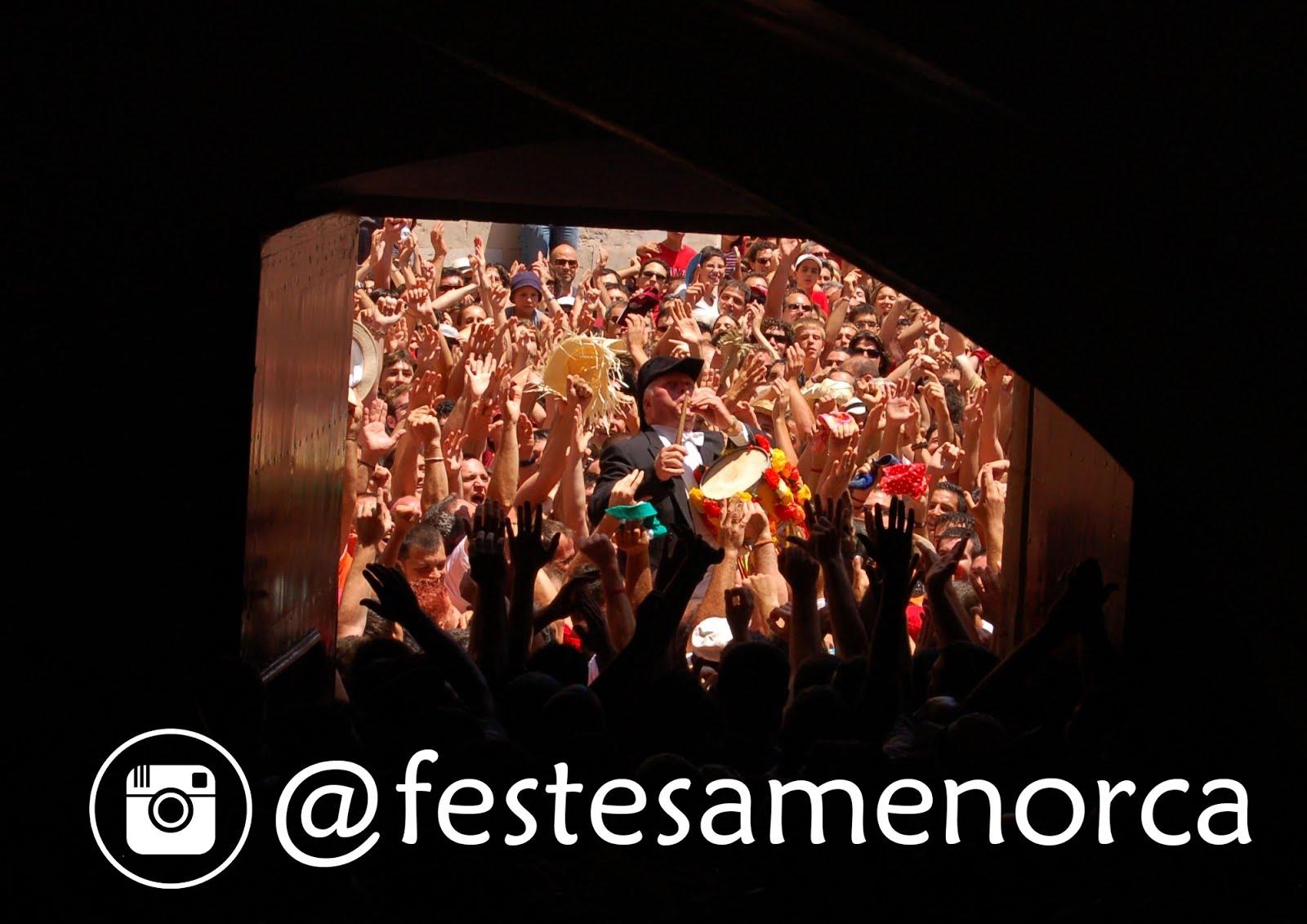 FESTES DE MENORCA - INSTAGRAM