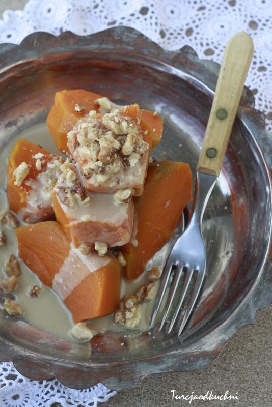 Dynia na słodko / Kabak tatlisi