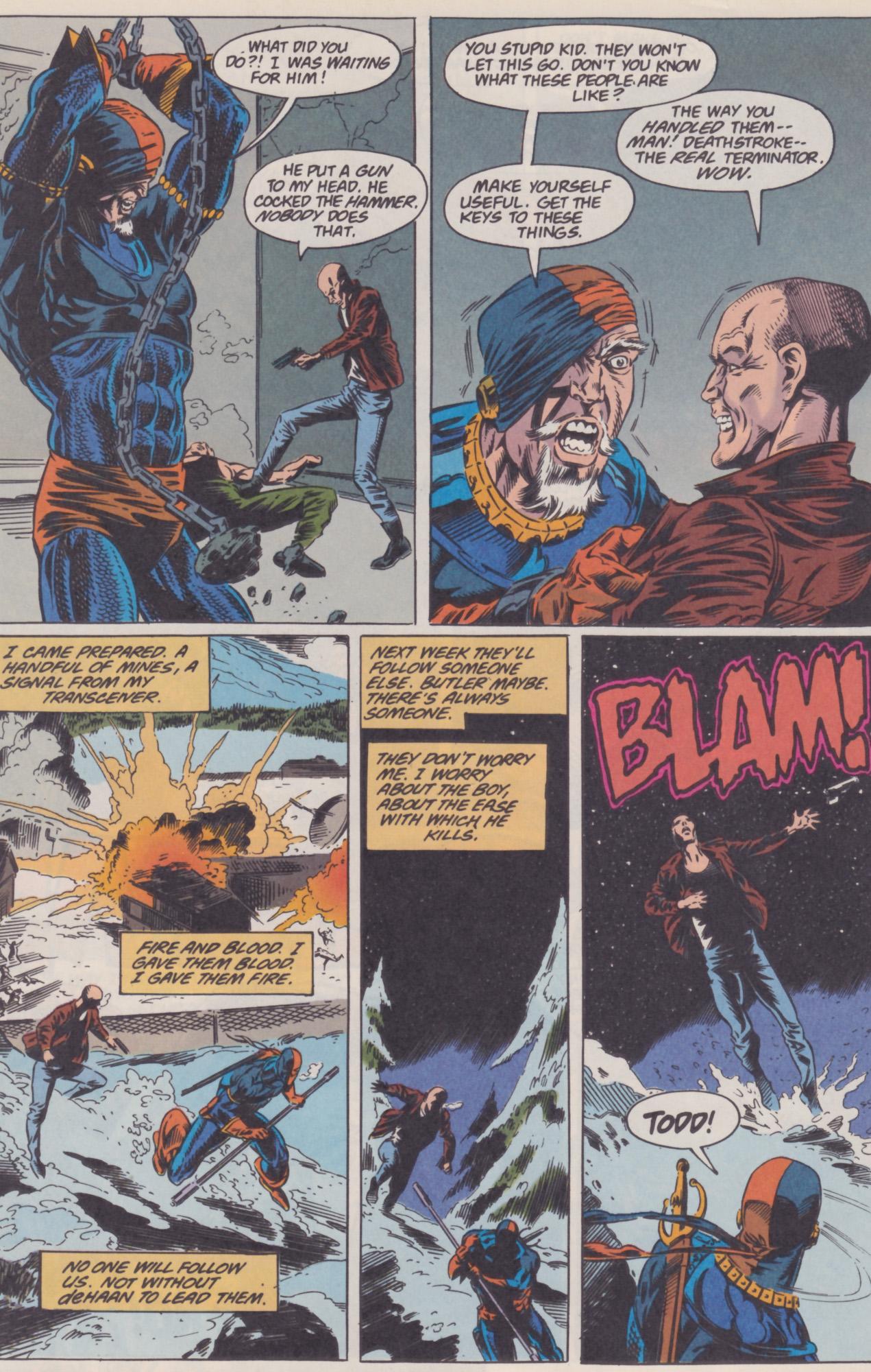 Deathstroke (1991) Issue #22 #27 - English 21