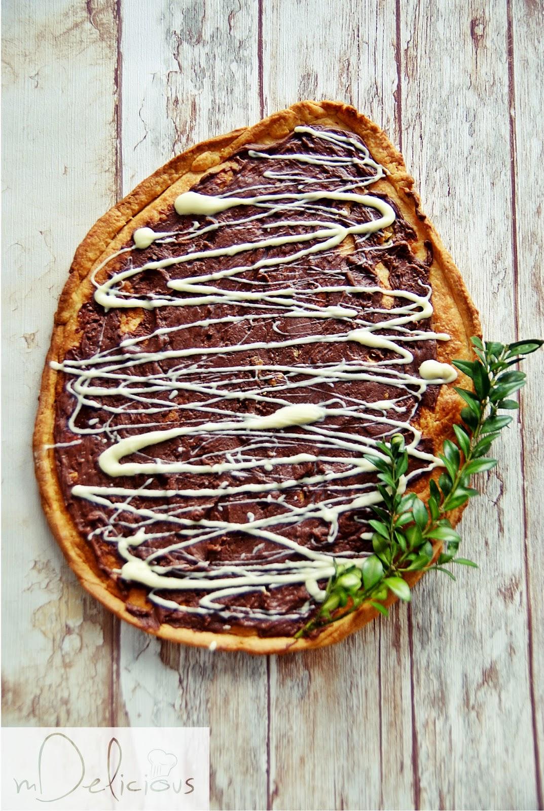 mazurek, mazurki, mazurek czekoladowy, mazurek z czekoladą, mazurek na kruchym cieście, mazurki przepisy, mazurek przepis, przepis na mazurek, przepis na mazurka
