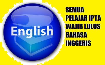 Wajib Lulus Bahasa Inggeris