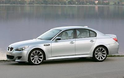 BMW M5 SILVER
