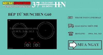 Bếp từ Munchen nhập khẩu châu Âu