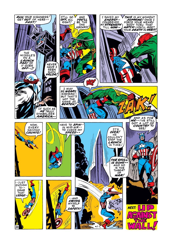 Captain America (1968) Issue #129 #43 - English 20