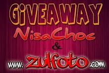 Giveaway NisaChoc & www.zulfoto.com