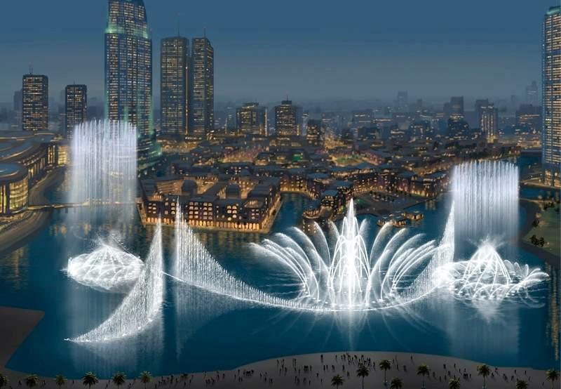 Dubai Fountain, Air Mancur Menari Terbesar Di Dunia