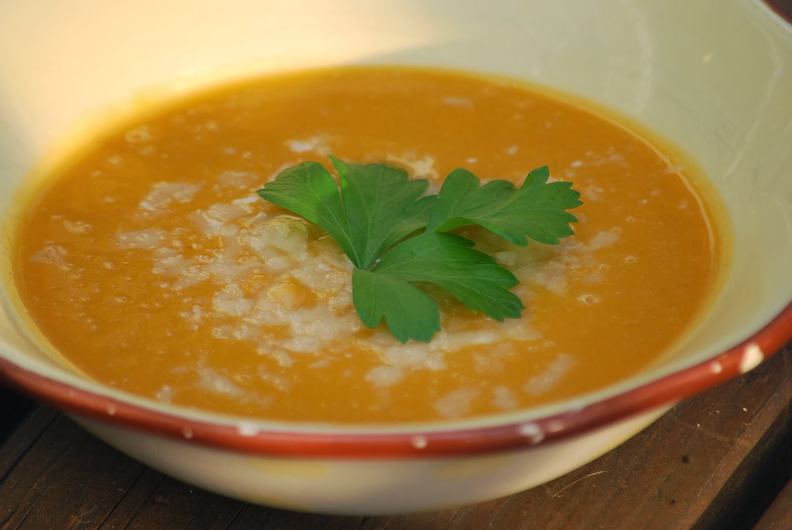 My story in recipes: Sweet Potato Soup