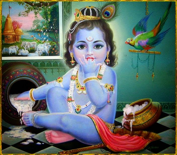 Baby Krishna