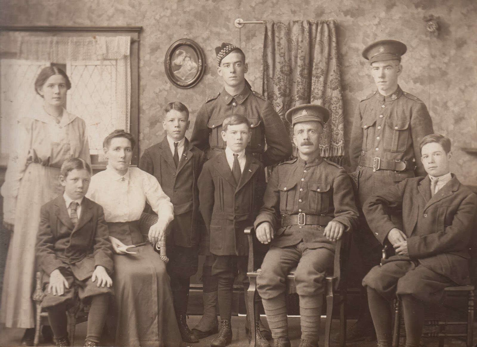 WW1. 4th Canadian Mounted Rifles 52 Ancestors: Sam Sandercock and His WW1 Tragedy
