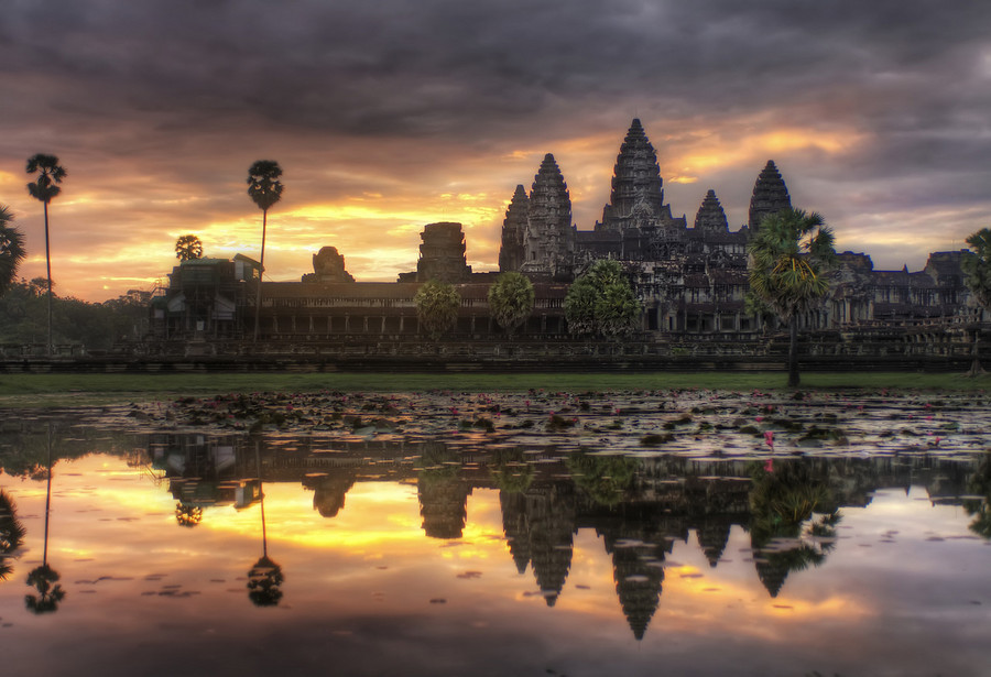 Architecture angkor wat art for your wallpaper for Architecture khmer