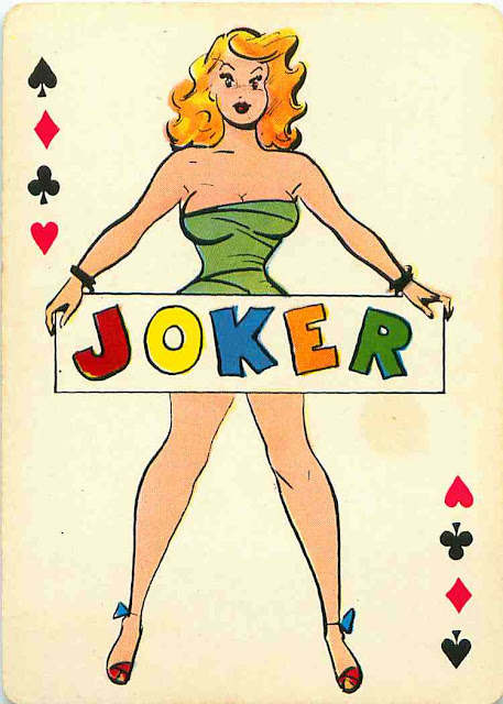 Pin-Up Cartoon Playing Cards