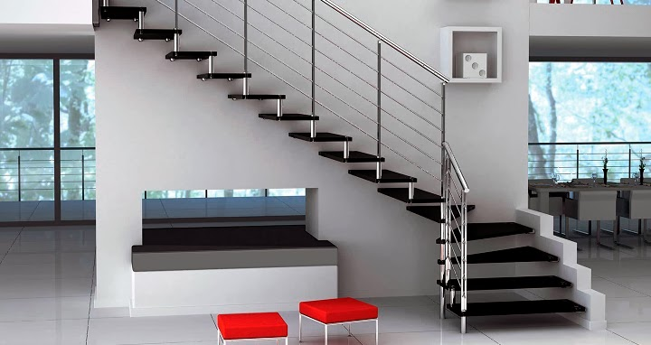 Marzua escaleras for Tipos de escaleras interiores