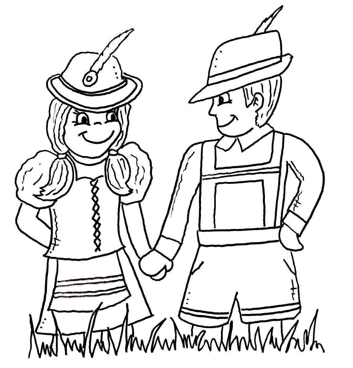 Free Coloring Pages Of German Coloring Pages Of In Germany