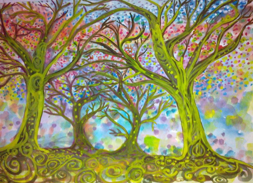 And articles save the world artist oliver wong quot dancing trees