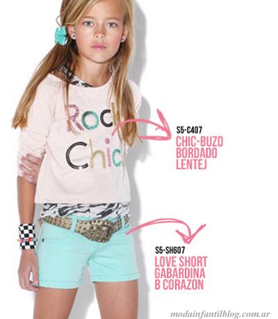 ropa de moda para nenas queen juana verano 2014