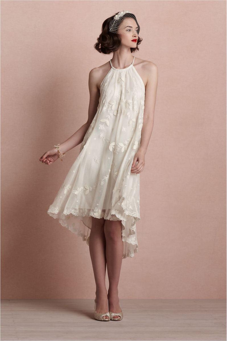 Encantador Vestido Para Boda Civil Ideas Ornamento Elaboración ...