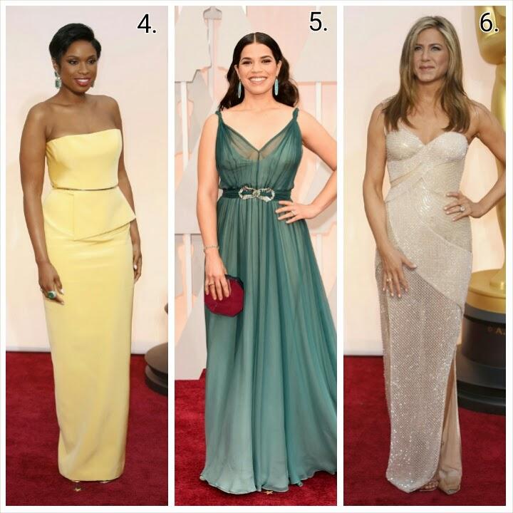 Best Dresses: Oscars 2015