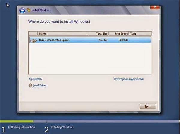 Tutorial Lengkap Cara Install Windows 8 Dengan Gambar