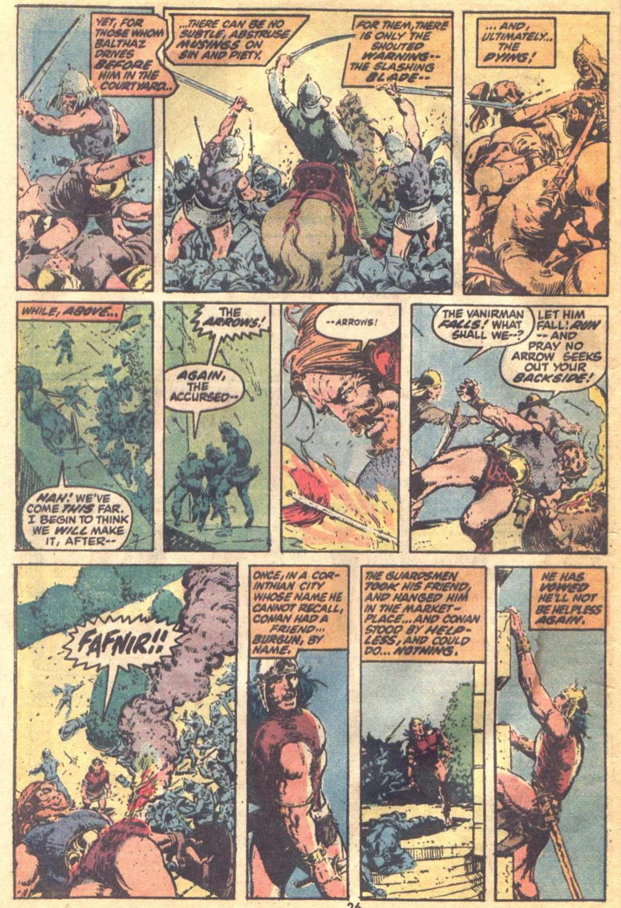 Conan the Barbarian (1970) Issue #19 #31 - English 19