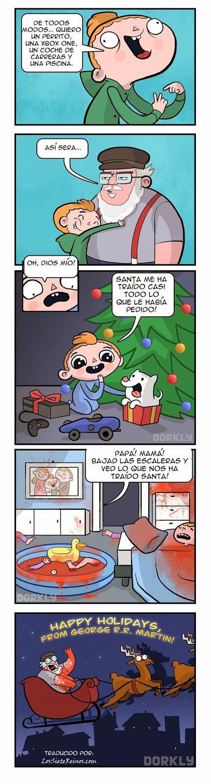 George R.R. Martin - Santa Claus