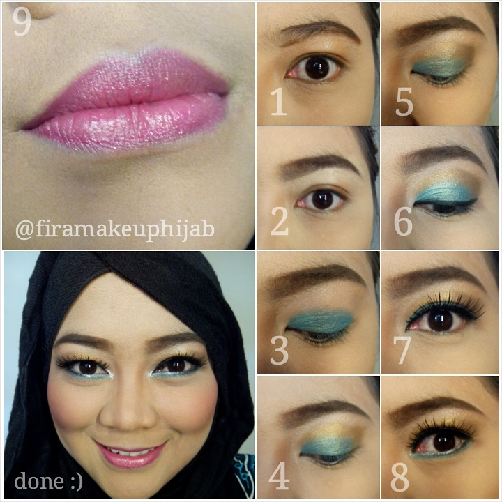 Model 1. Tips Tutorial Make Up Hijab Modern image