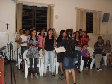 GALERA REUNIDA COM MUITA UNÇÃO!!!