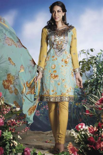Churidar dresses 2012