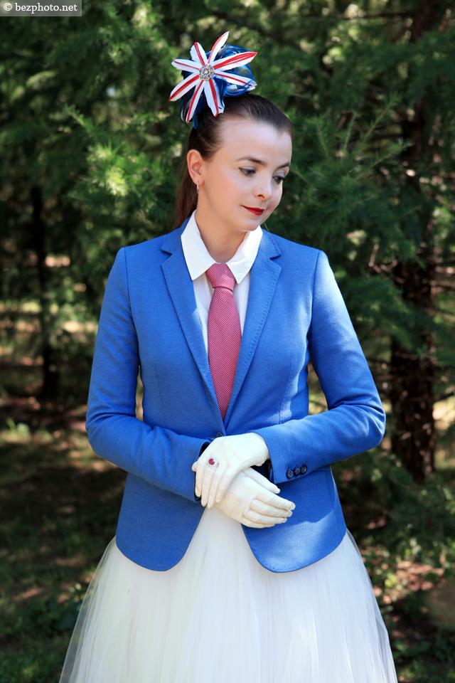 британский стиль в одежде женщины