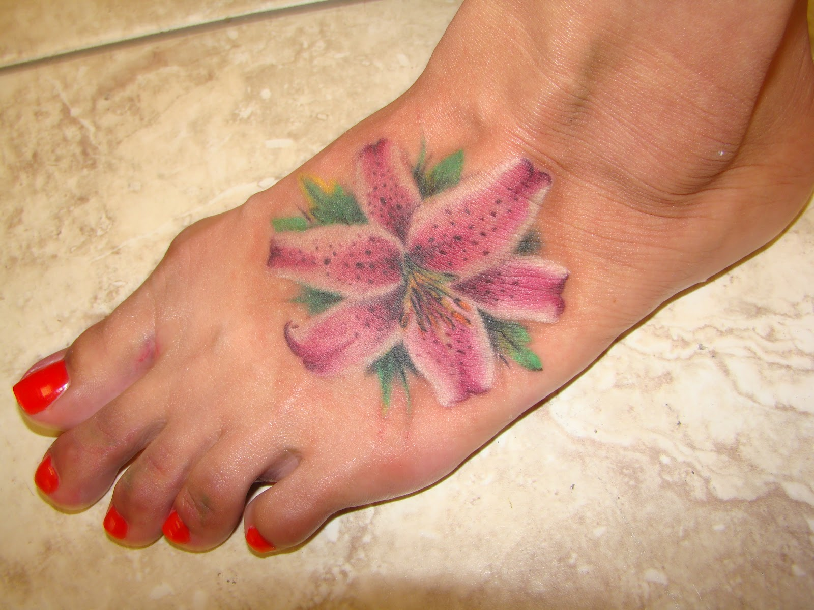 Crazy Body Tattoo 30 Prepossessing Lotus Flower Foot Tattoo