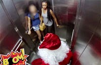 Santa Claus Scary Prank – Funny Video