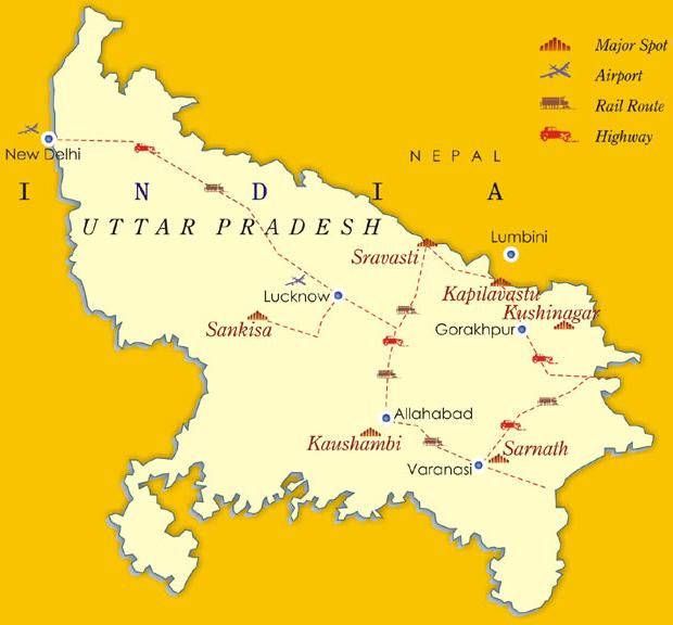 Uttar Pradesh Bedrock Of Buddhism!