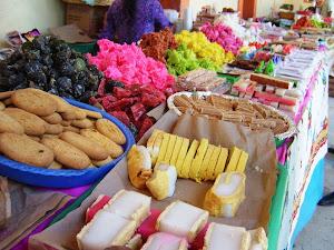 Dulces elaborados en Nauzontla Puebla