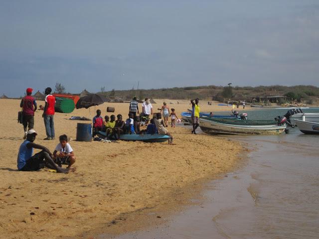 Orillas de la Laguna de La Somone en Senegal