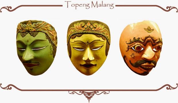 Gambar Topeng Tradisional Malang Seni Budaya Indonesia Jatim