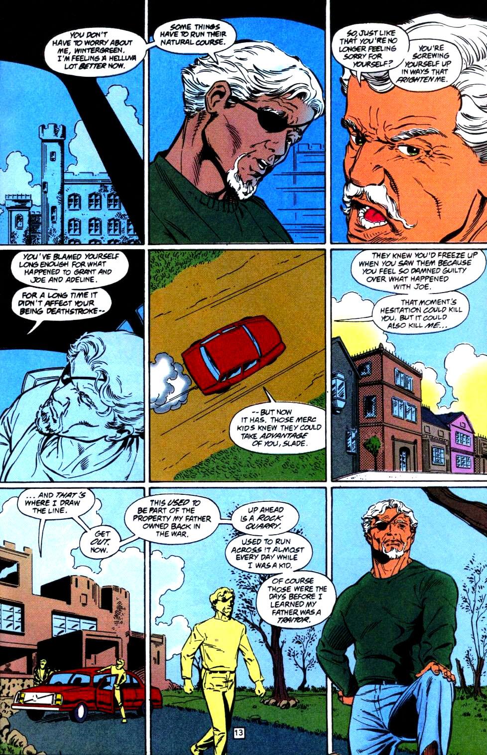 Deathstroke (1991) Issue #35 #40 - English 14