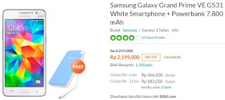 Promo Samsung Galaxy Grand Prime VE Terbaru