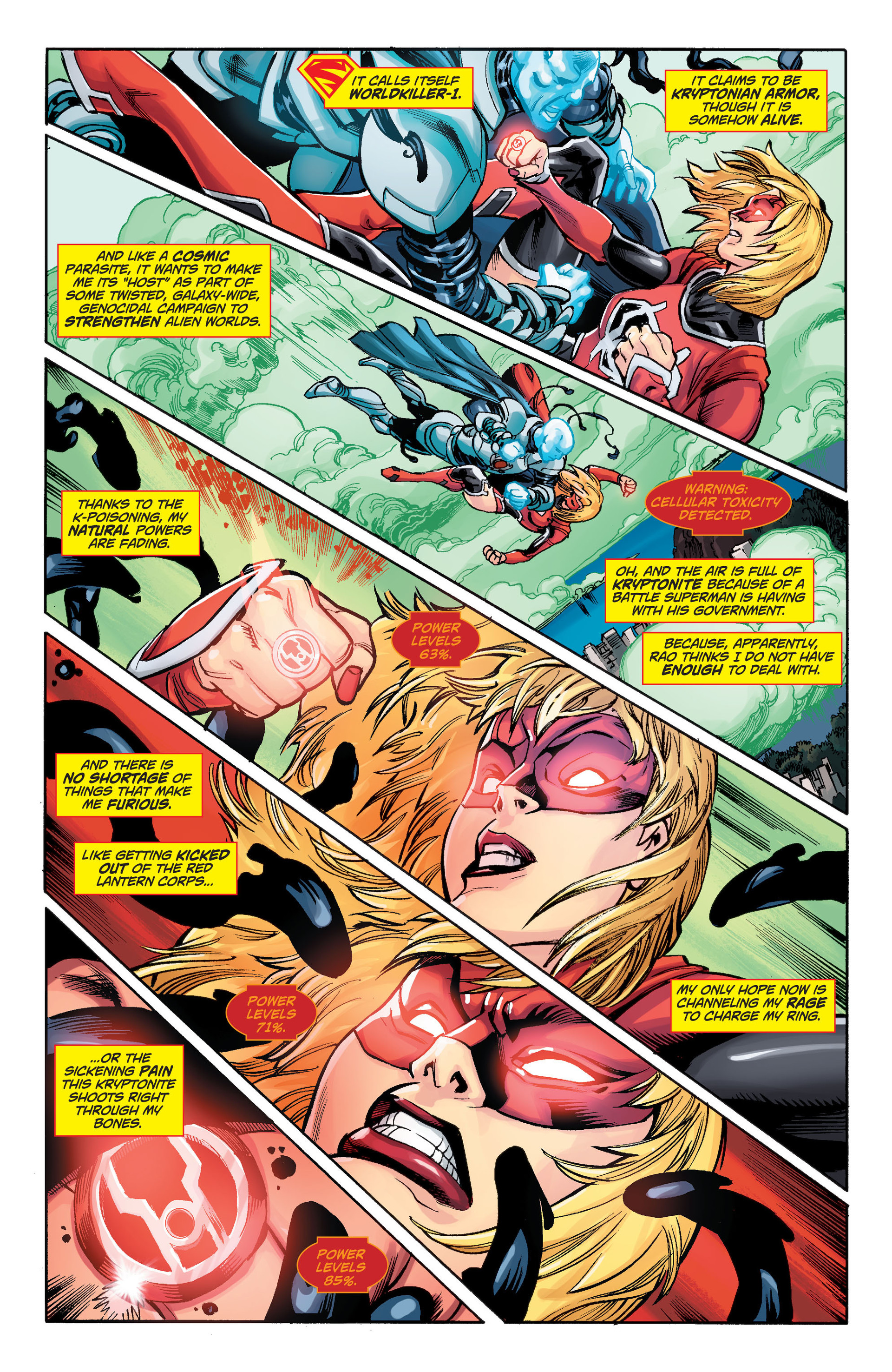 Supergirl (2011) Issue #33 #35 - English 3