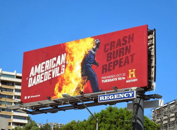 American Daredevils series premiere billboard