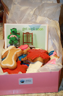 get well soon cookies