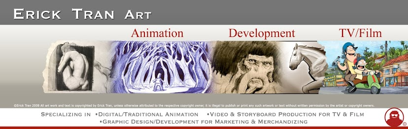 Erick Tran Art •Animation •Development •TV/Film