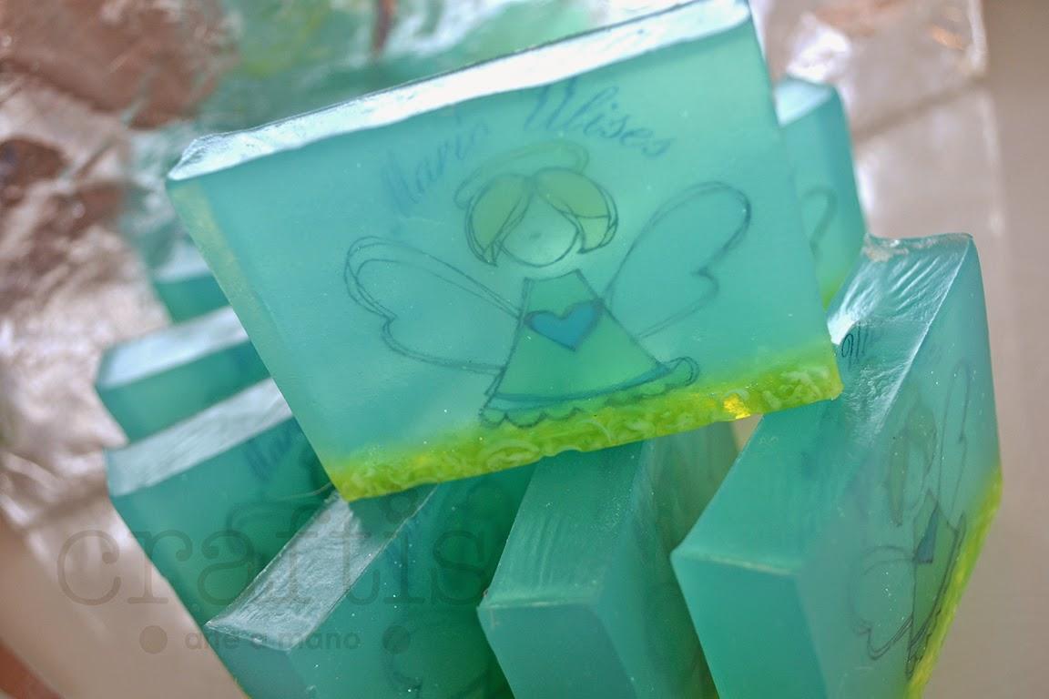 El blog de craftis arte a mano crafti tutorial c mo - Como se hace el jabon de glicerina ...
