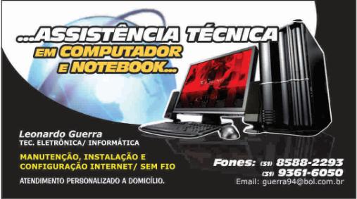 LEO GUERRA- ASSISTÊNCIA TÉCNICA EM COMPUTADORES