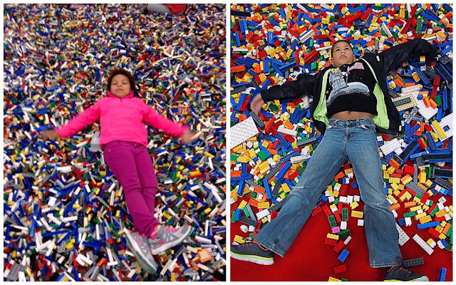 LEGO Creativity Tour [photos] so many LEGOS!