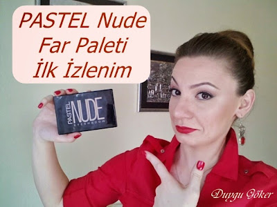 Pastel Nude Far Paleti Youtube'ta