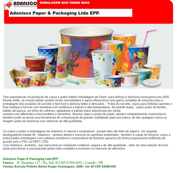 Adanisco Paper E Packaging Ltda EPP