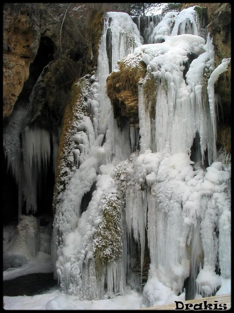 Cascada Batida Del Molino Viejo (Río Blanco, Calomarde)
