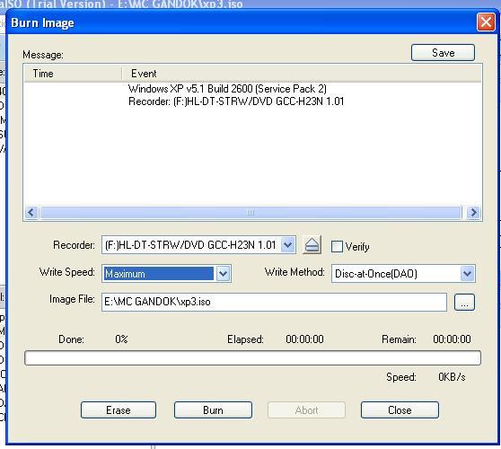 Cara Buat Cd Dvd Bootable Booting Cd Pada Ultraiso 9