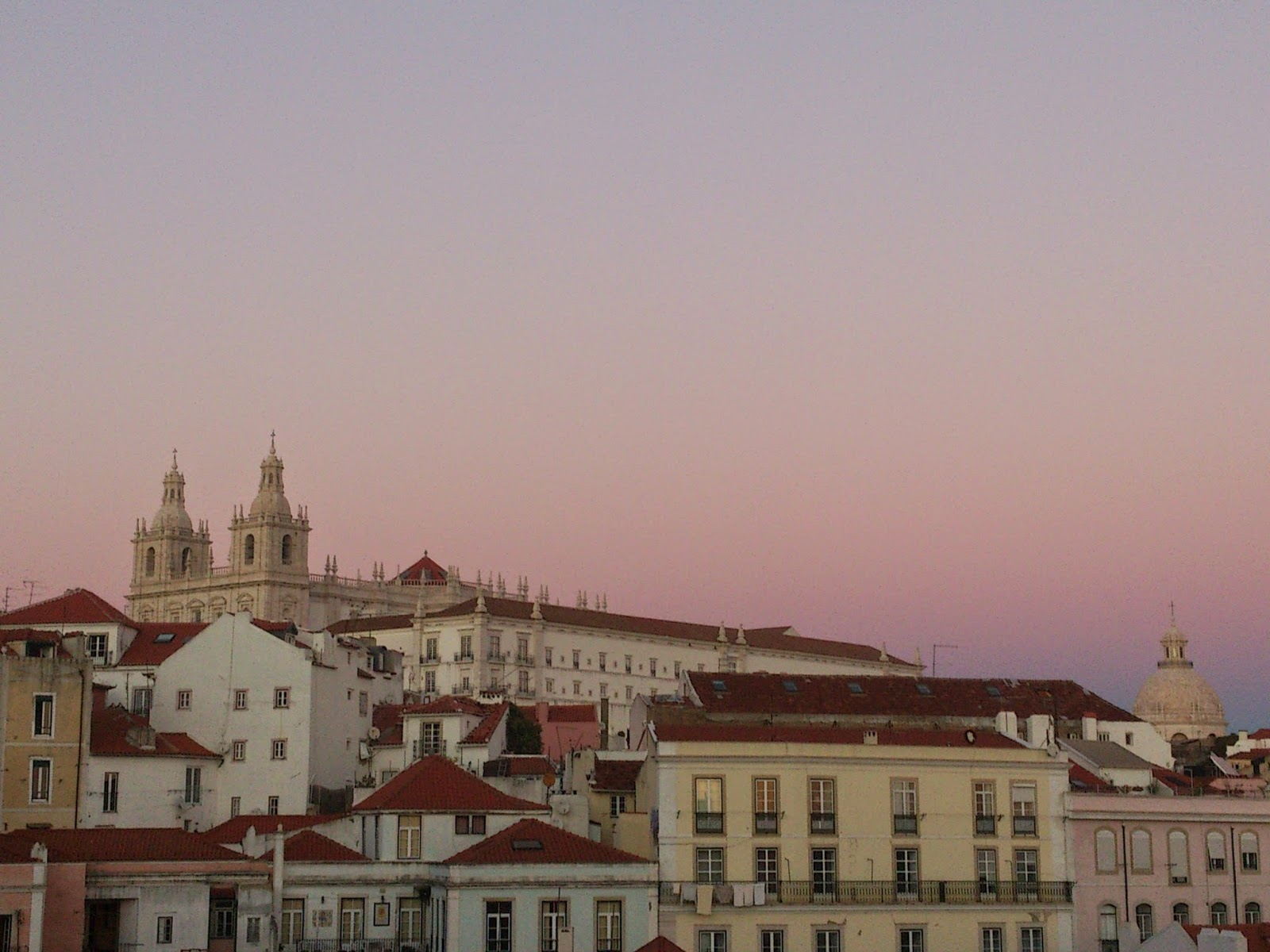 ByHaafner, sunset in Lisbon