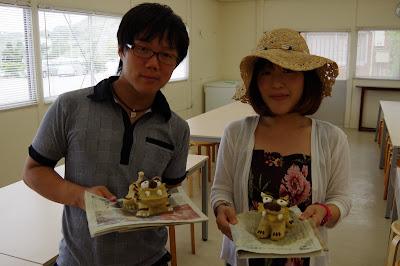沖縄 体験/観光 しっくい シーサー作り